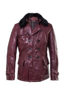 Куртка кожаная Interfino