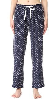 Пижамные брюки с шелка Allison Alessandra Mackenzie