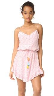 Платье с короткими Мандрем и ремешком Athena Procopiou