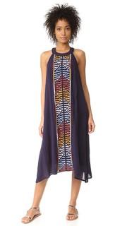 Платье с вышивкой Piper