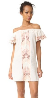 Платье с оборками Piper