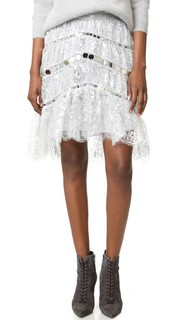 Кружевная мини-юбка Adorn, украшенная кристаллами Zimmermann