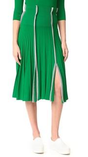 Плиссированная юбка Cedric Charlier