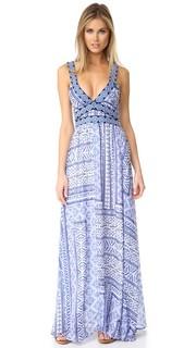 Принтованная & платье с вышивкой Ondade Mar