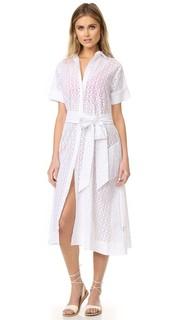 Платье-рубашка с прорезями Lisa Marie Fernandez