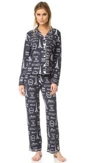 Пижамный набор в городской и любовь PJ Salvage