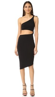 Onyx Asymmetrical Dress Bec & Bridge