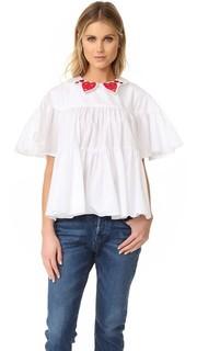 Блуза с сердечками Vivetta