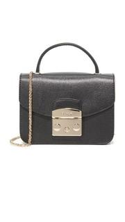 Миниатюрная сумка через плечо Metropolis с ручкой сверху Furla