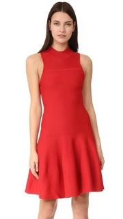 Расклешенное платье без рукавов Carven