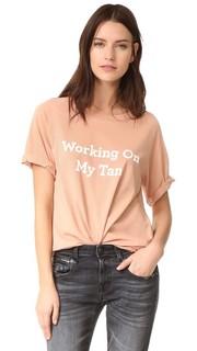 Работая My футболке с бежевый Lolli