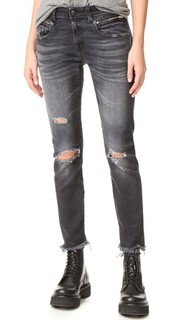 Мешковатые джинсы в стиле до колен R13