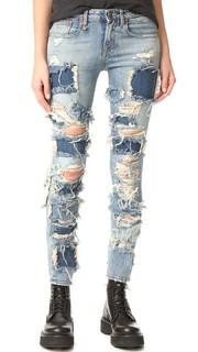 Alison Укороченные джинсы R13