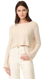 Кашемировый свитер украшен узором The Perfext