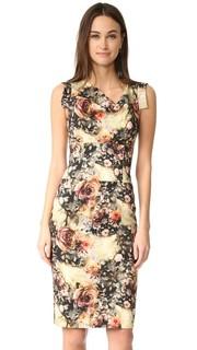 Платье с поясом Jackie O Black Halo