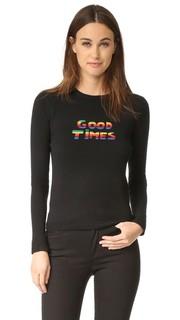 Кашемировый свитер с Good время блеск Bella Freud