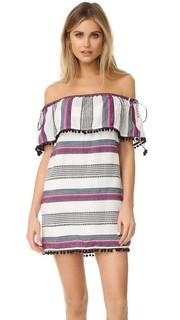 Энджи со спущенными плечами мини-платье Saylor