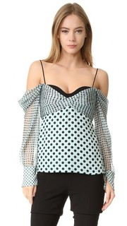 Блуза с корсетной J. Mendel
