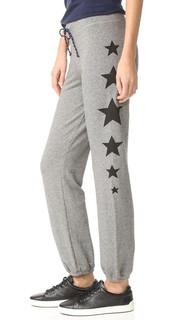 Спортивные брюки со звездами сбоку Sundry