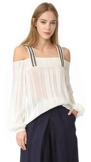 Lysia шелковая блуза Zeus+Dione
