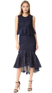 Юбка-платье с оборками Lela Rose