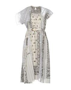 Платье до колена Sacai