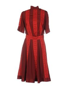 Платье до колена Sacai Luck