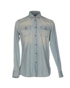 Джинсовая рубашка Trussardi Jeans