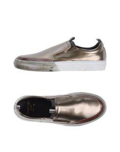 Низкие кеды и кроссовки Sartori Gold