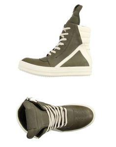 Высокие кеды и кроссовки Rick Owens