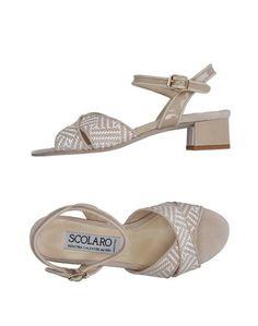 Сандалии Scolaro