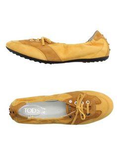Низкие кеды и кроссовки Tods