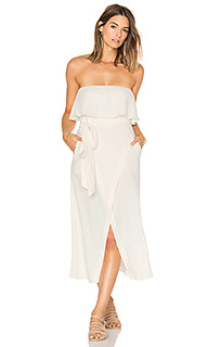 Solid strapless dress - Vix Swimwear