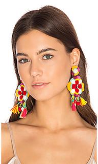 Multi tassel earring - Ranjana Khan