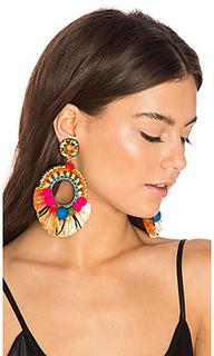 Raffia hoop earring - Ranjana Khan