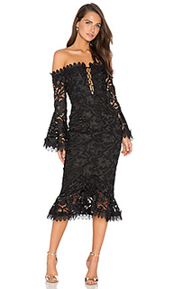 Кружевное платье botanical - NICHOLAS