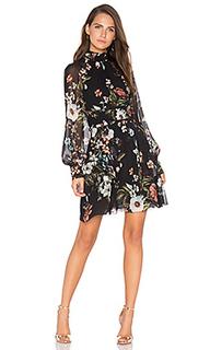 Мини платье vintage floral - NICHOLAS