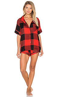 Ultra soft buffalo plaid pj set - Plush