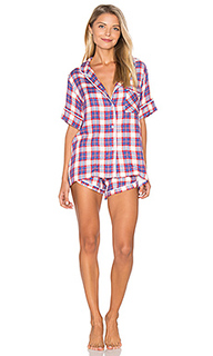 Ultra soft plaid pj set - Plush