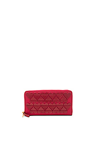 Stitched heats standard continental wallet - Marc Jacobs