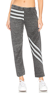 Burnout fleece tri stripe bottoms - Wildfox Couture