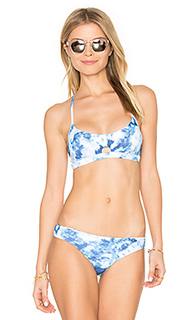 Reversible caribbean ink bralette - Seafolly