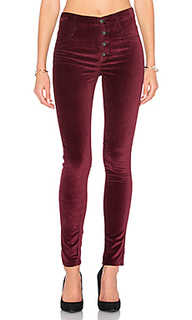 Узкие бархатные брюки high class - James Jeans