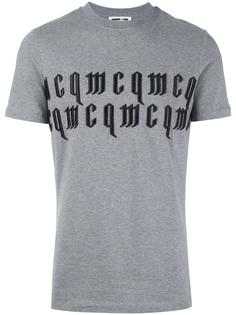 футболка с вышивкой логотипа McQ Alexander McQueen