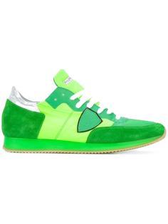кроссовки с нашивкой Philippe Model