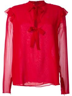 lace up blouse  Giambattista Valli