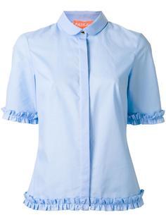 ruffled trim shirt  Paskal