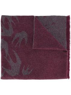 swallow jacquard scarf  McQ Alexander McQueen