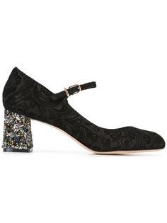 декорированные жаккардовые туфли-лодочки  Sophia Webster