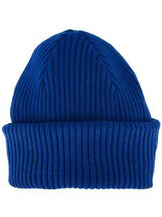 шапка ребристой вязки Paul Smith